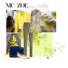 Spring for Nic+Zoe by zoenian on Polyvore