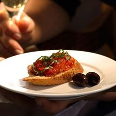 Slow-Roasted Cherry Tomato Bruschetta - EatingWell.com