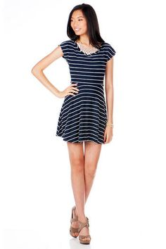 Oak Bluff Striped Dress