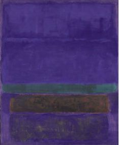 Mark Rothko (Marcus Rothkowitz) - Untitled (Blue, Green, and Brown)