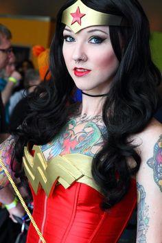 Wonder Woman Cosplay by GlitzyGeekGirl