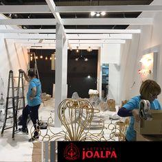 Fieles a la cita, un año más estaremos presentes en Fiera Milano para presentar nuestras novedades en iluminación artesanal y #MadeInSpain #Joalpa #FieraMilano #lamp #light #deco #designinterior #interiordesign #luxury #artesania #art