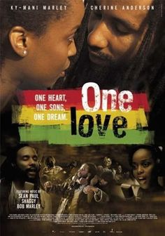 One Love A rasta musician meets a gospel singer when they both enter a music contest in Kingston Jamaic. They fall for each other but are kept apart by the Girl's father the Pastor, who wants her to marry into the church.