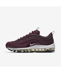 timeless design 290a9 3b4b3 Nike Air Max 97 Premium Bordeaux Black Muslin Trainers Outlet UK Outlet Uk,  Nike Outlet