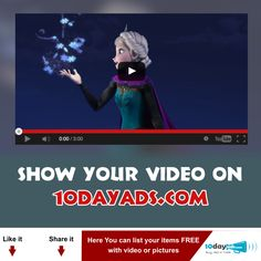 Show your Video on 10dayads.com #Video #VideoAds #PostVideo #VideoAdsPosting #VideoClassifiedAds