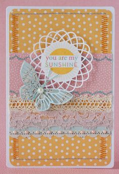 You are my sunshine card any occasion birthday by ksenchik30, $2.25