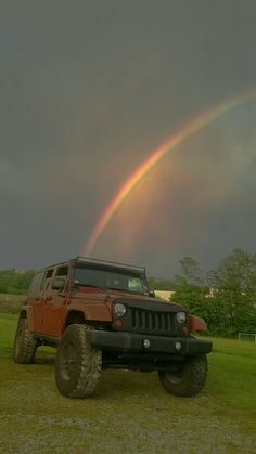 Jeeps at the end of the rainbow!