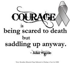 Courage - Brain Tumor Awareness