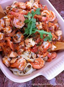 Rich and Sweet by Bia Rich: Seafood Tagliatelle