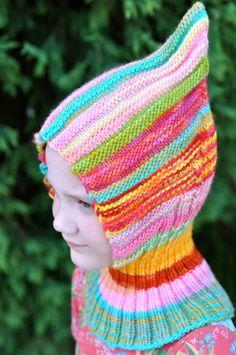 Ravelry: Lyalya Hoodie pattern by Natasha Schaffer Knitted Hats Kids, Knitting For Kids, Loom Knitting, Baby Knitting, Knitting Patterns, Knit Hats, Knit Or Crochet, Crochet Hats, Loom Hats