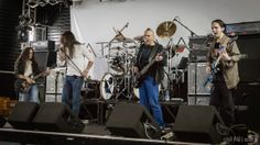 Fates Warning soundcheck performance in Berlin, Germany