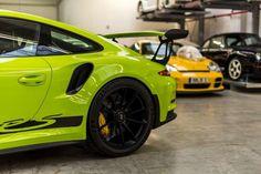 Birch Green Porsche 911 GT3 RS by Porsche Exclusive