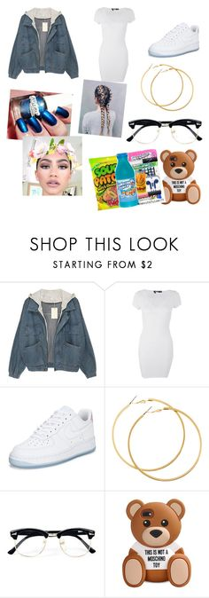 """I know I'm kute"" by savagesquad2k ❤ liked on Polyvore featuring Boohoo, NIKE, H&M, Handle, Topman and Moschino"