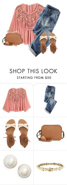 """we're saved by the bell"" by lucyc-01 ❤ liked on Polyvore featuring MANGO, Billabong, Tory Burch, Kate Spade and Chanel"