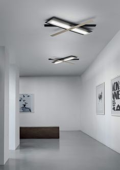 Eclips_s By linea light group, led direct light powder coated aluminium ceiling lamp design Oriano Favaretto, eclips Collection