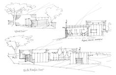 Concept sketches for new home in Chifley, ACT