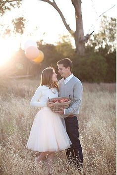 apple picking engagement photo , falling in love , Space 46 tulle skirt , outfit…