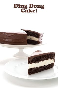 A low carb chocolate cake that tastes like a Ding Dong. Are you kidding me? Delicious keto chocolate cake with a cream filling and a sugar-free chocolate glaze. Low Carb Chocolate Cake, Chocolate Cake Mixes, Chocolate Glaze, Sugar Free Chocolate, Low Carb Desserts, Low Carb Recipes, Ding Dong Cake, Ketogenic Lifestyle, Bird Food