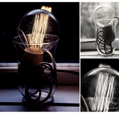 Lamp from Nordic tales