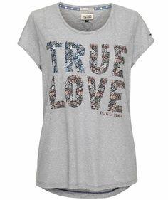 "Damen T-Shirt ""Jaili"" #hilfigerdenim #flowers #truelove"