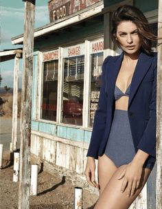 salvaje oeste: alyssa miller by yu tsai for vogue mexico may 2014