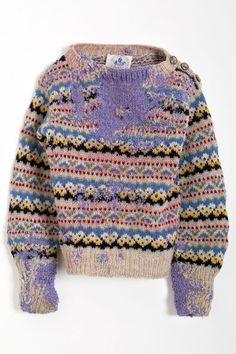 Celia Pym, Hope's Sweater, 1951, moth eaten sweater and darning, 30 x 40 x 3cm, 2011