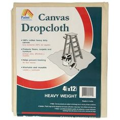 Plan on making outdoor patio curtains with dropcloth (Amazon a tad cheaper than Home Depot). Need a dozen.