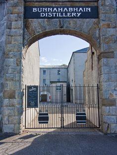 Bunnahabhain Whiskey Distillery, Islay, Scotland, UK