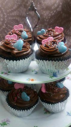 Cupcakes Chocolate e Brigadeiro