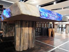 furniture company epos modern indonesia developed methods to use off-cuts from local industries and pieces of old, drifted wood to create benches, stools, tables, ...