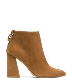 Best fall bootie to go with EVERYTHING in my closet! Channeling my inner farrah fosset! Stuart Weitzman <span class='plpItemName'>GRANDIOSE BOOTIE<br/></span><span class='plpGroupName'> in Suede</span> Boots Shoe