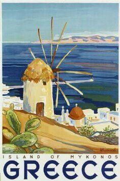 Island Of Mykonos Greece Travel Tourism