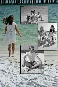 LOVE this picture Nick made for me of our Destin vacation!