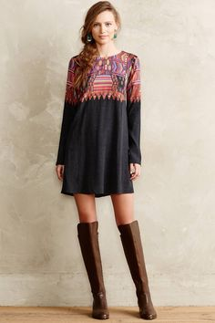 Daugava Petite Swing Dress - anthropologie.com