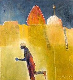Mel McCuddin-'The Walled City'-The Art Spirit Gallery of Fine Art