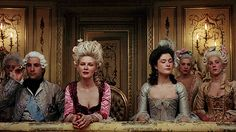 At the Opera. Marie Antoinette.