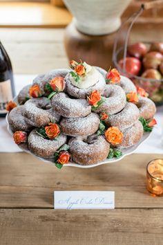 a doughnut dessert b