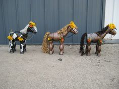 2015 Created by Stefanie Butler  sells for Little Clay Pot Horses For Sale $100 /horse