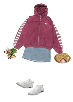 """#54G Flowers and Pie"" by lsaroskyl ❤ liked on Polyvore featuring OKA, Marc Jacobs and adidas"
