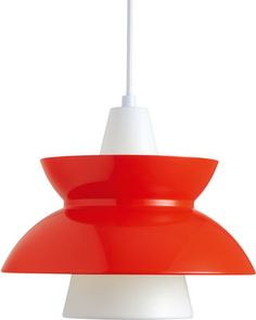 Doo-WOP Suspension Light Designed by Louis Poulsen. Comes in a range of 'pop' colours. http://www.madeindesign.co.uk/prod-doo-wop-suspension-ref5741093449.html