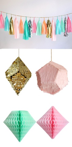 Pinatas by confetti system