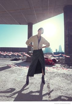 tao okamoto bergdorf goodman shoot08 Tao Okamoto Wears Sleek & Modern Style for Bergdorf Goodman's Fall Catalogue