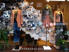Anthropologie, London - February 2014  www.endevanture.com/post/77721047373/blue-monday-anthropologie-131-141-kings