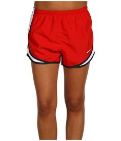 "Nike Dri-FIT™ Tempo Track 3.5"" Short Sport Red/White/Black/White - Zappos.com Free Shipping BOTH Ways"