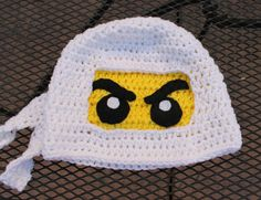 LEGO Ninjago Beanie... I'm thinking christmas presents!!