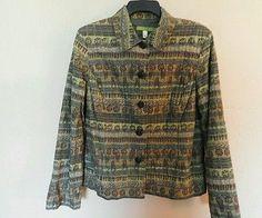 Sigrid Olsen  ethic print jacket