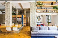 apto. são paulo | projeto: kikacamasmie+arq | sofá new lounge (micasa)