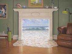 Magic Realism Paintings by Paul Bond