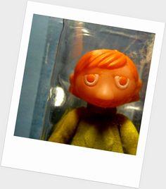 Nuuskamuikkunen. Hattu puuttuu! Nucky Thompson, Johnny Rotten, Golden Red, Jimi Hendrix, Red Color, Colours, Orange, Retro, Toys