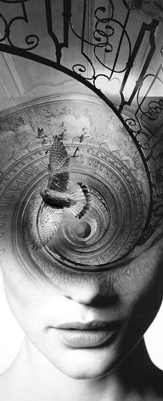 If it is surely the means to the highest end we know, can any work be humble or disgusting? Will it not rather be elevating as a ladder, the means by which we are translated? - Henry David Thoreau ; Artwork - Antonio Mora